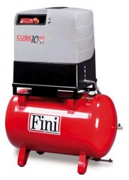 FINI 10HP 270LT SCREW COMPRESSOR CUBE-SD-10-270F-TA