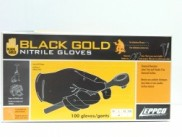 Nitrile Gloves Black-Gold GL05