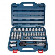 28 Pc Half Inch Drive Socket Set - M1228