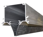 Overhead modular rail measuring 4000 mm
