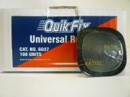 6037BK SQUARE ALL PURPOSE 45mm 500 per box