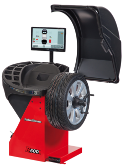 B600L - Car Wheel Balancer with Touchscreen Monitor