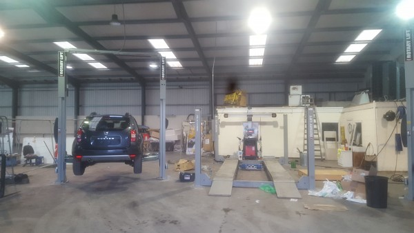 2 Post Lift for Dennehy Motors